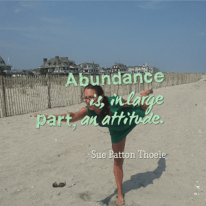 abundance is attitude