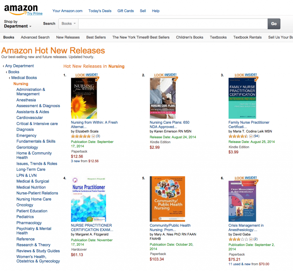 nursing from within. number 1 on amazon